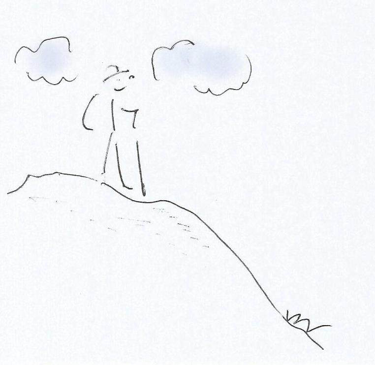 Bergsteigerin - MentaleBalance